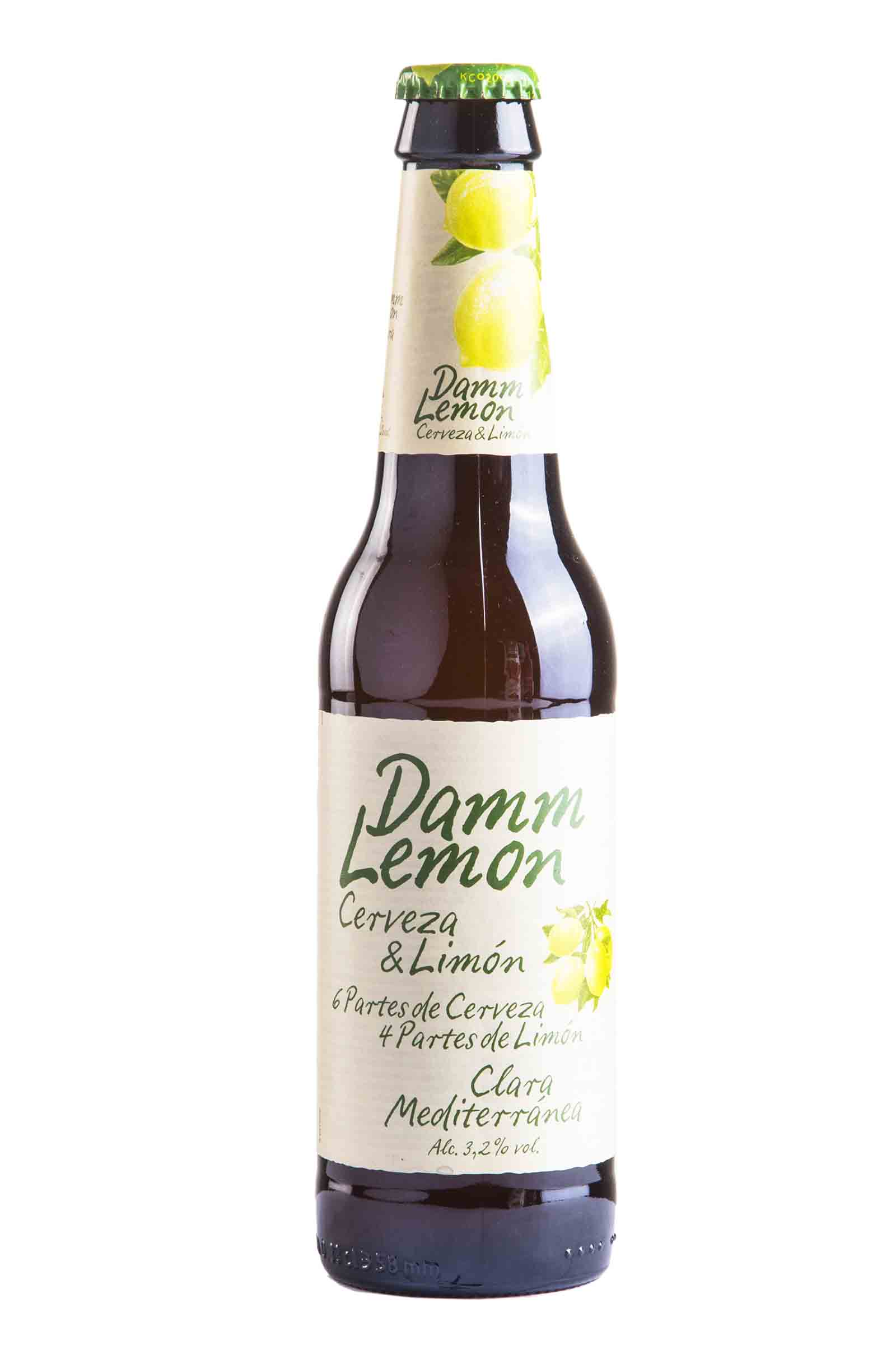 Cerveza Damm Lemon 330ml