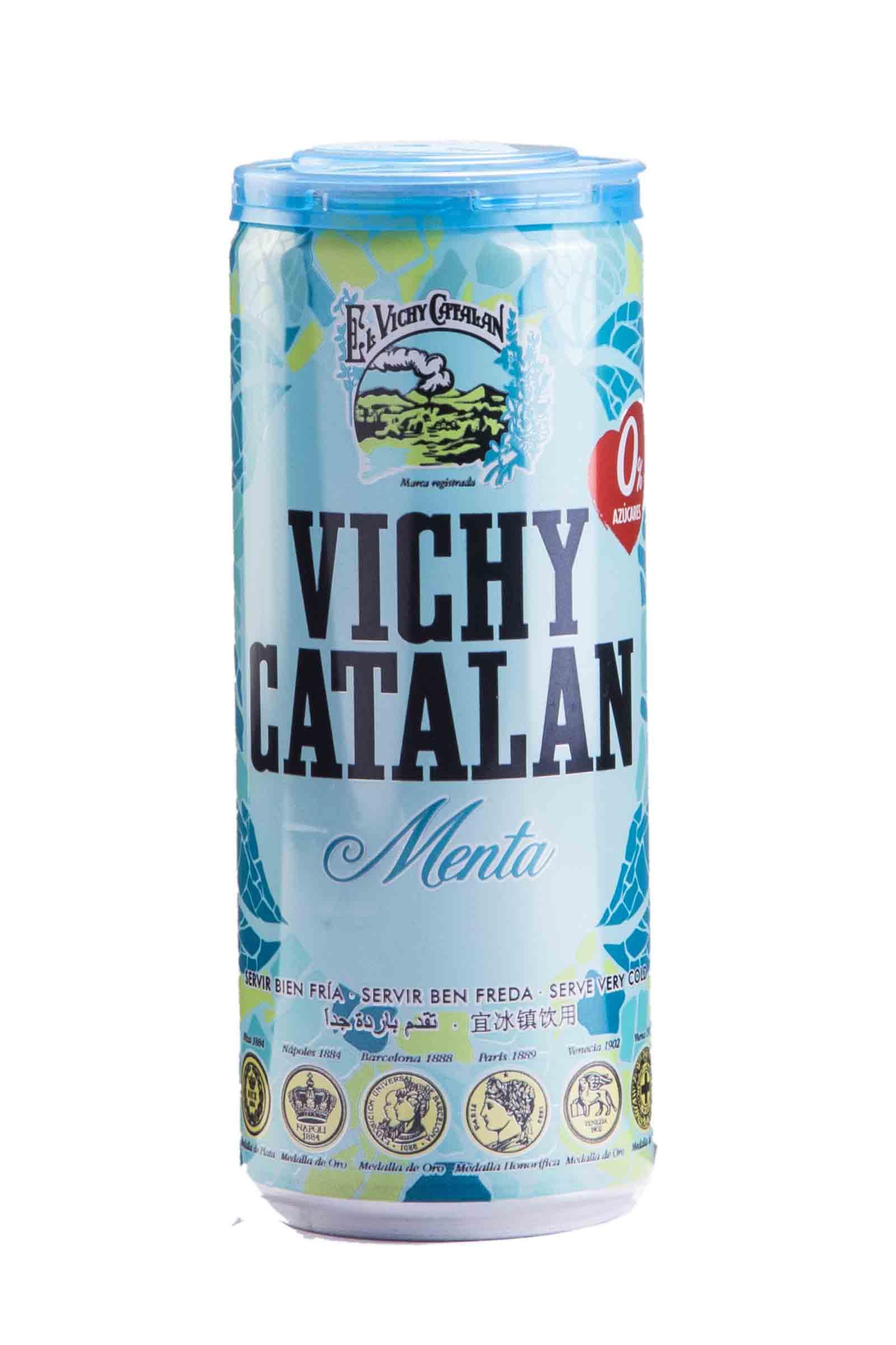 Vichy Catalan Lata Menta 330ml