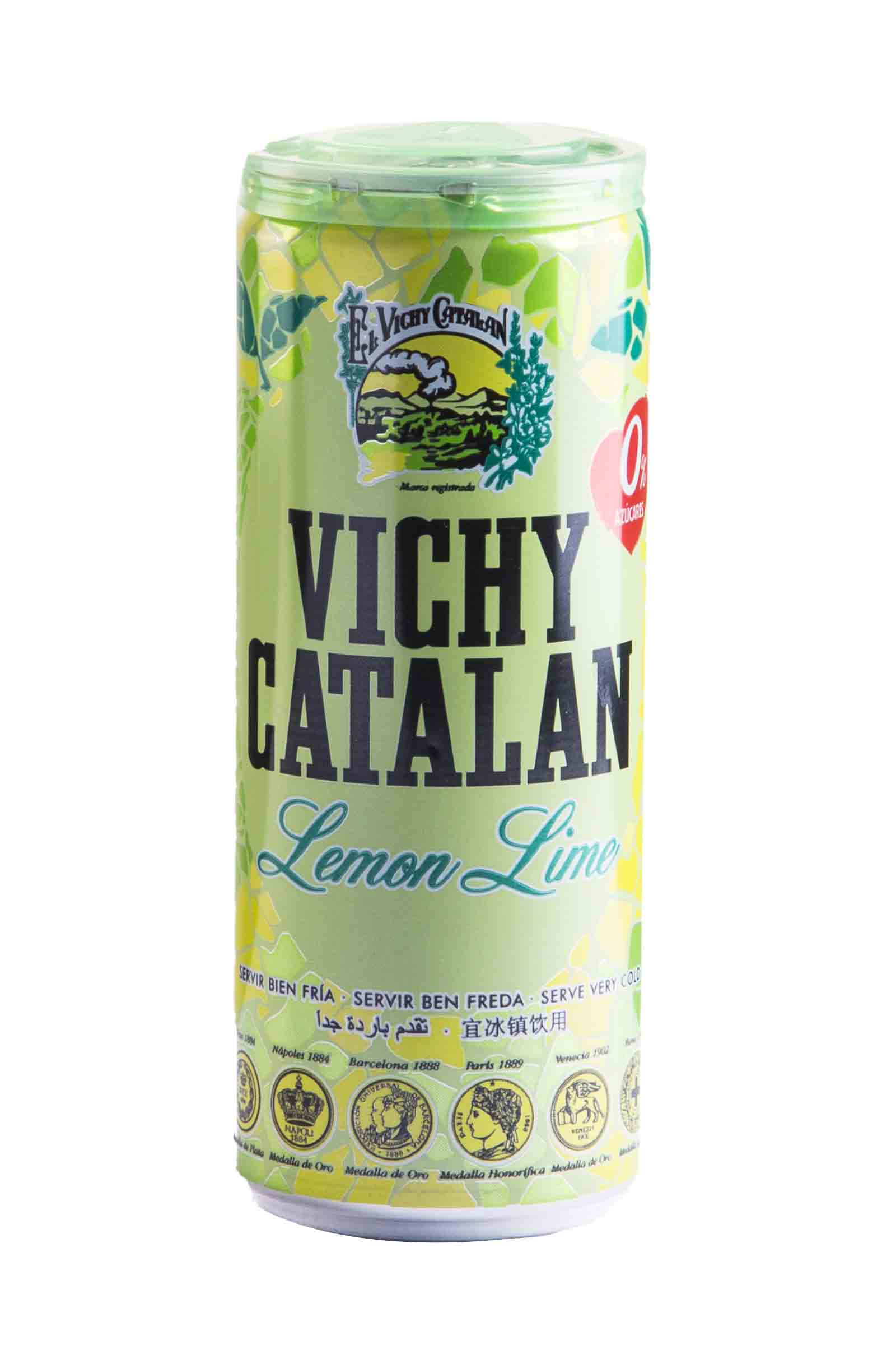 Vichy Catalan Lata Lima-Limon 330ml