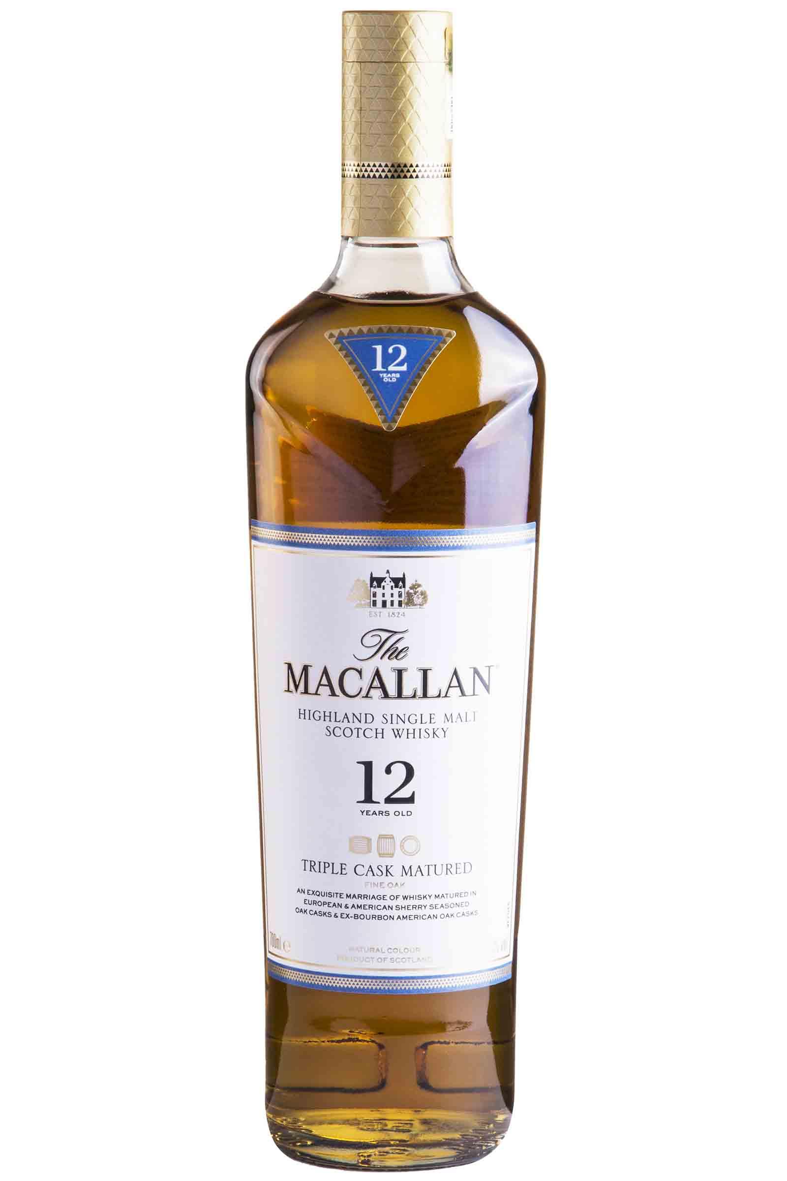 Whisky Macallan Triple Cask 12 años 750ml