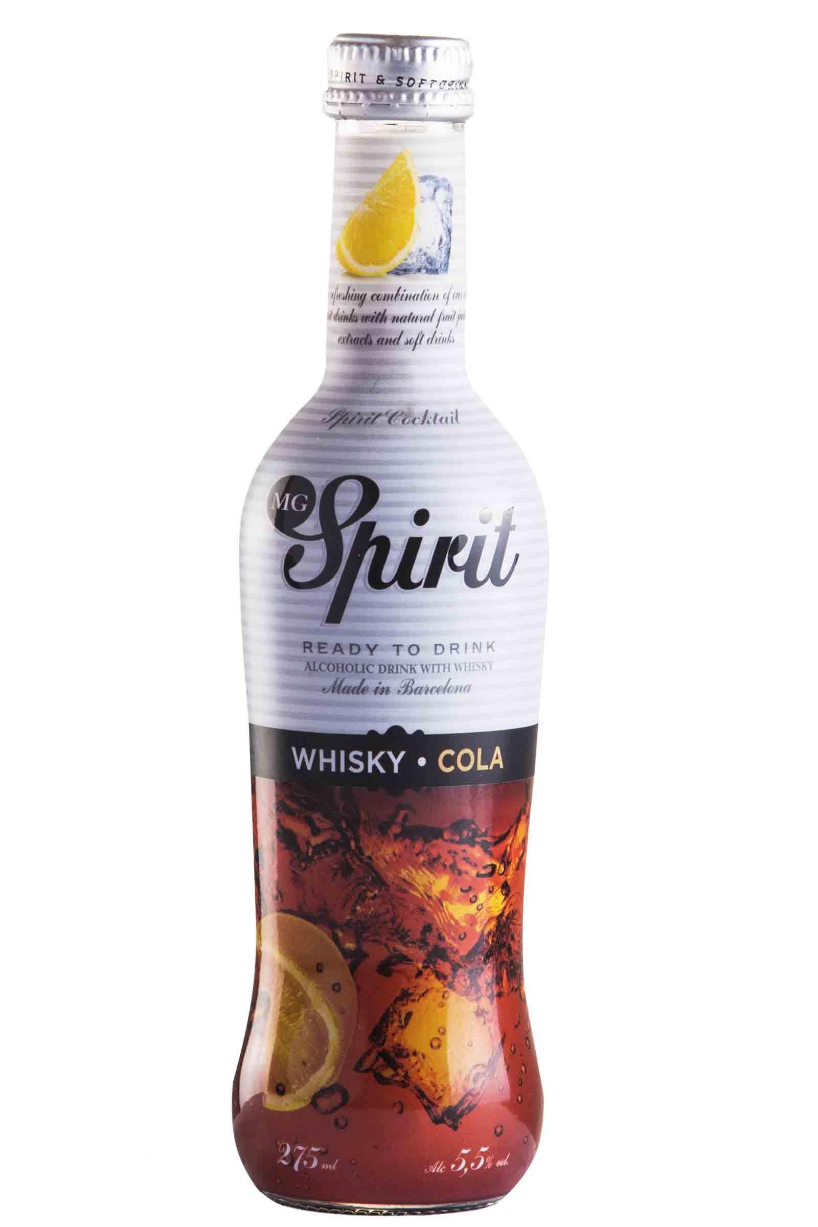 MG Spirits Whisky Cola 275ml