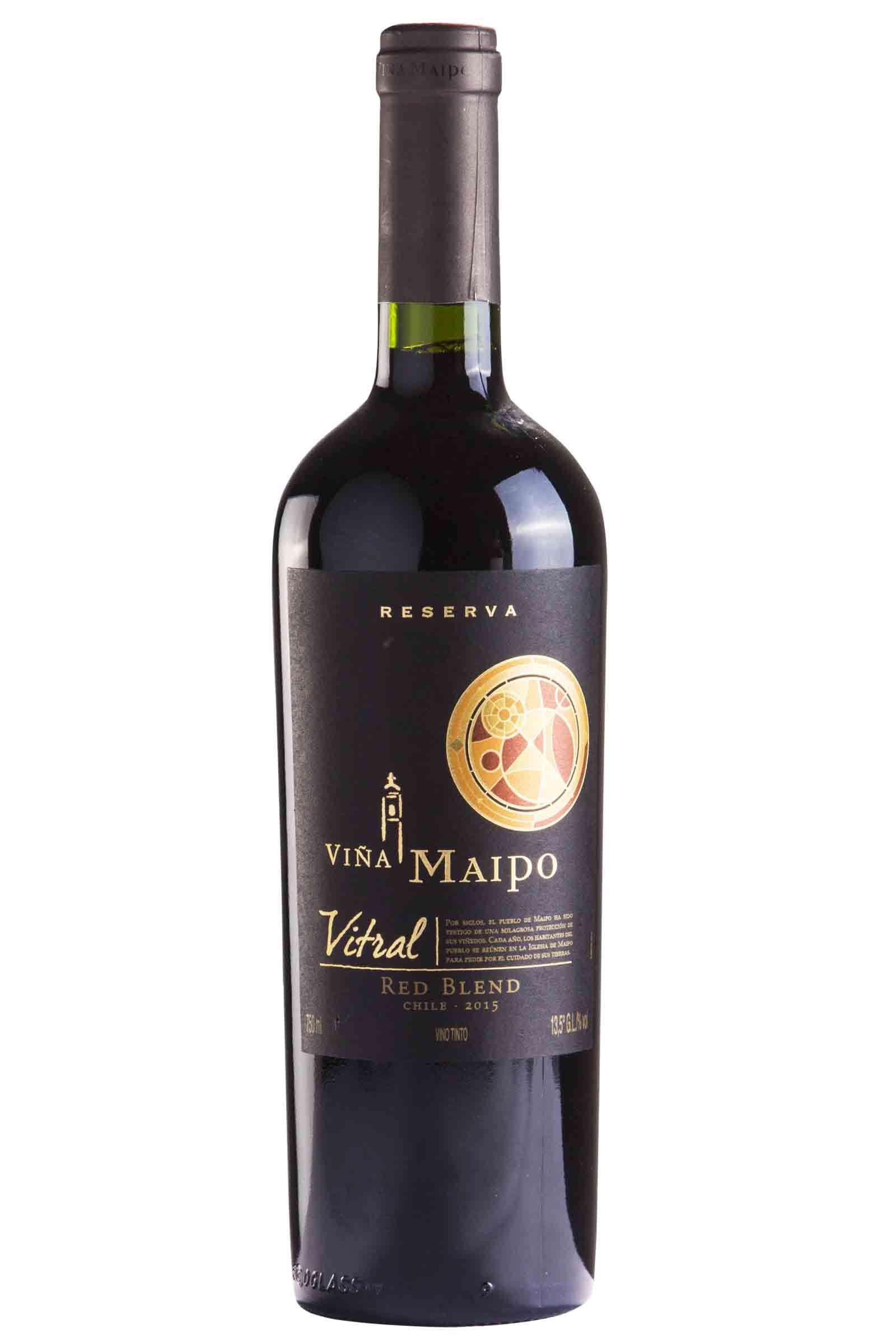 Vino Maipo Vitral Reserva Red Blend 750ml