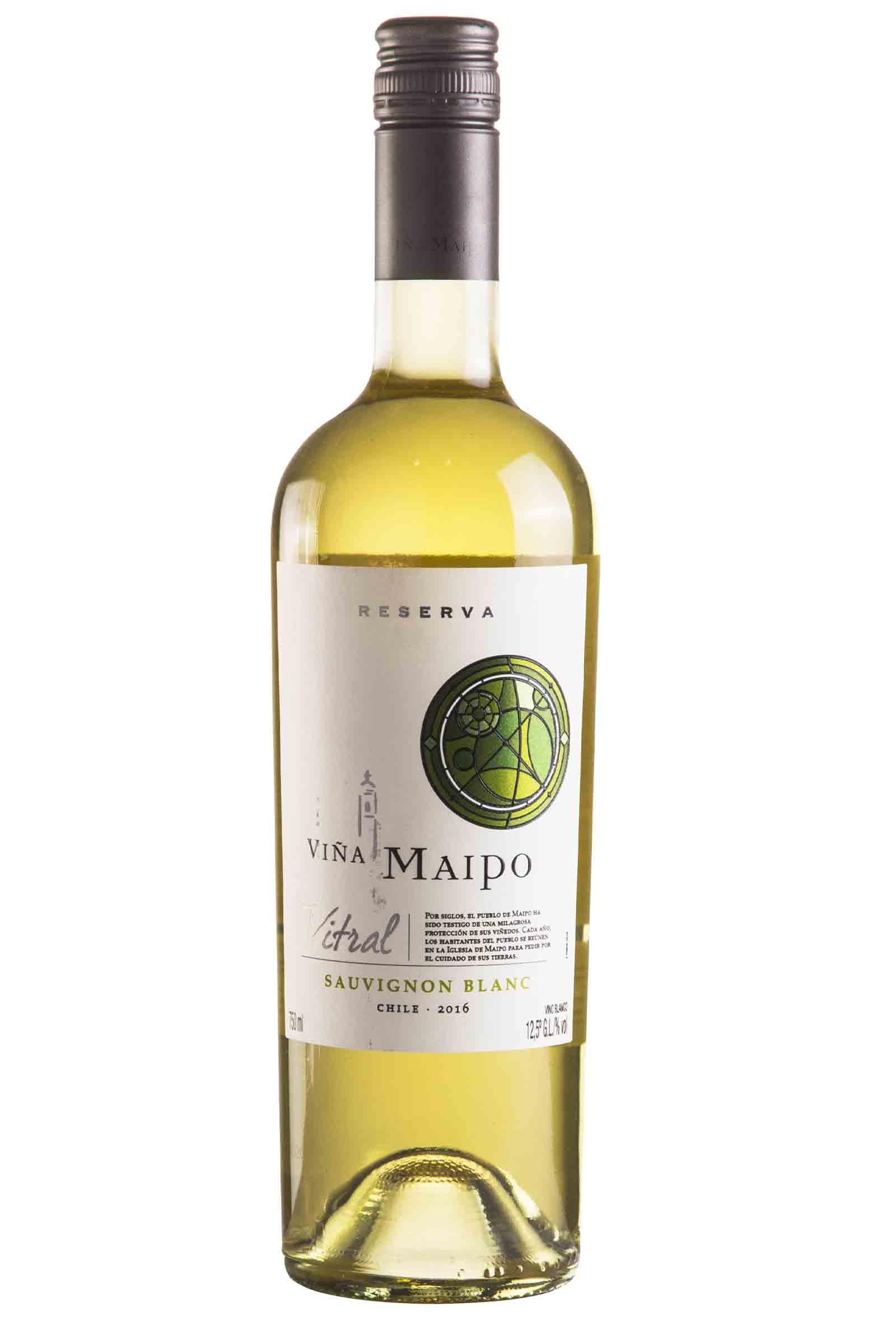 Vino Maipo Vitral Reserva Sauvignon Blanc 750ml