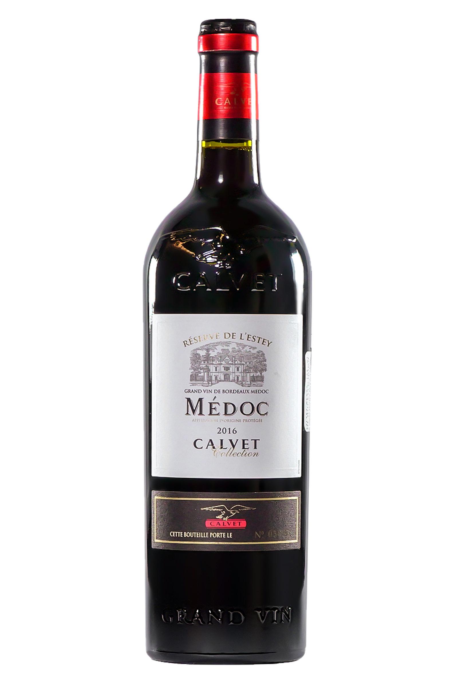Vino Calvet Medoc 750ml