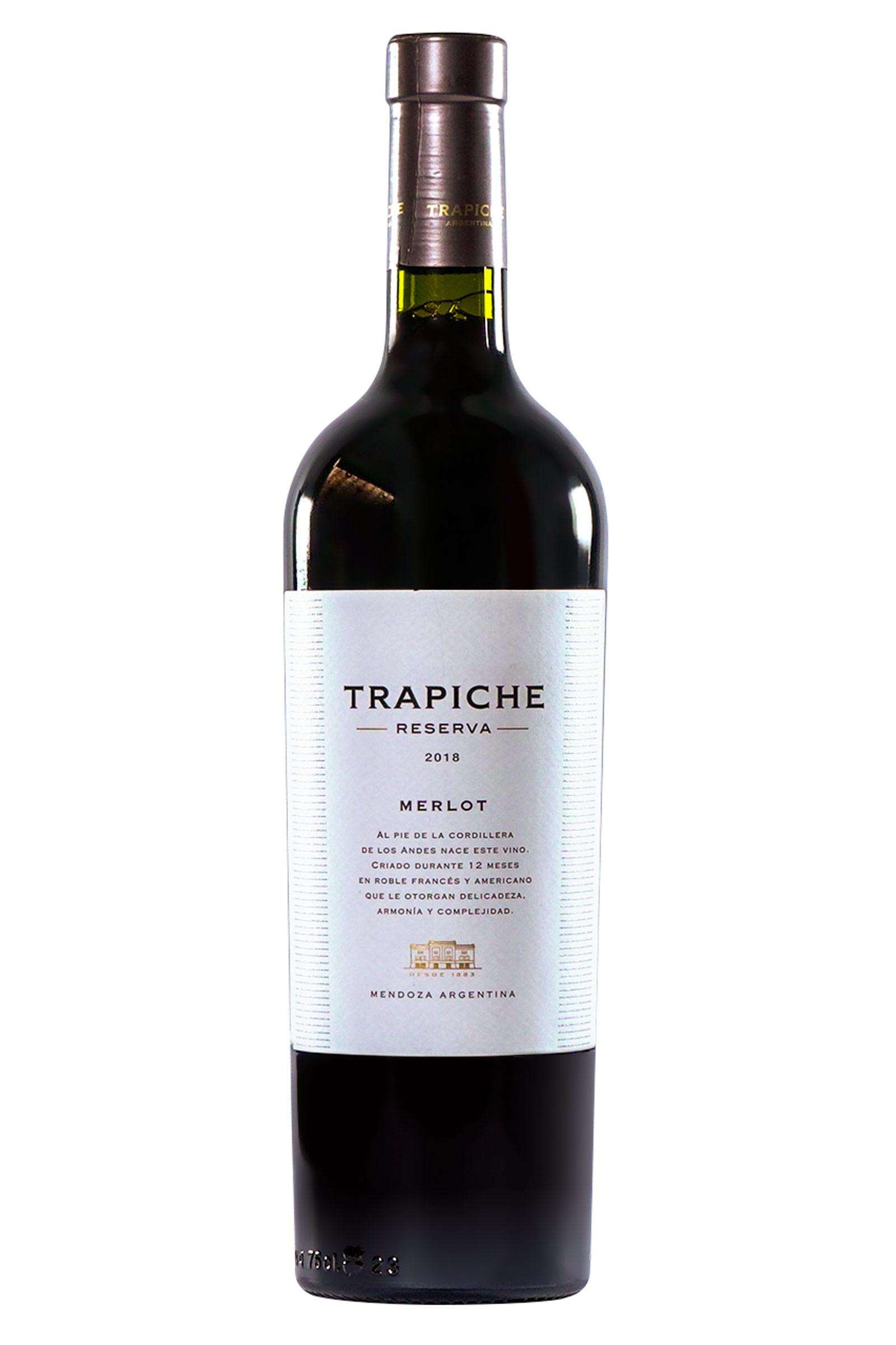 Vino Trapiche Reserva Merlot 750ml