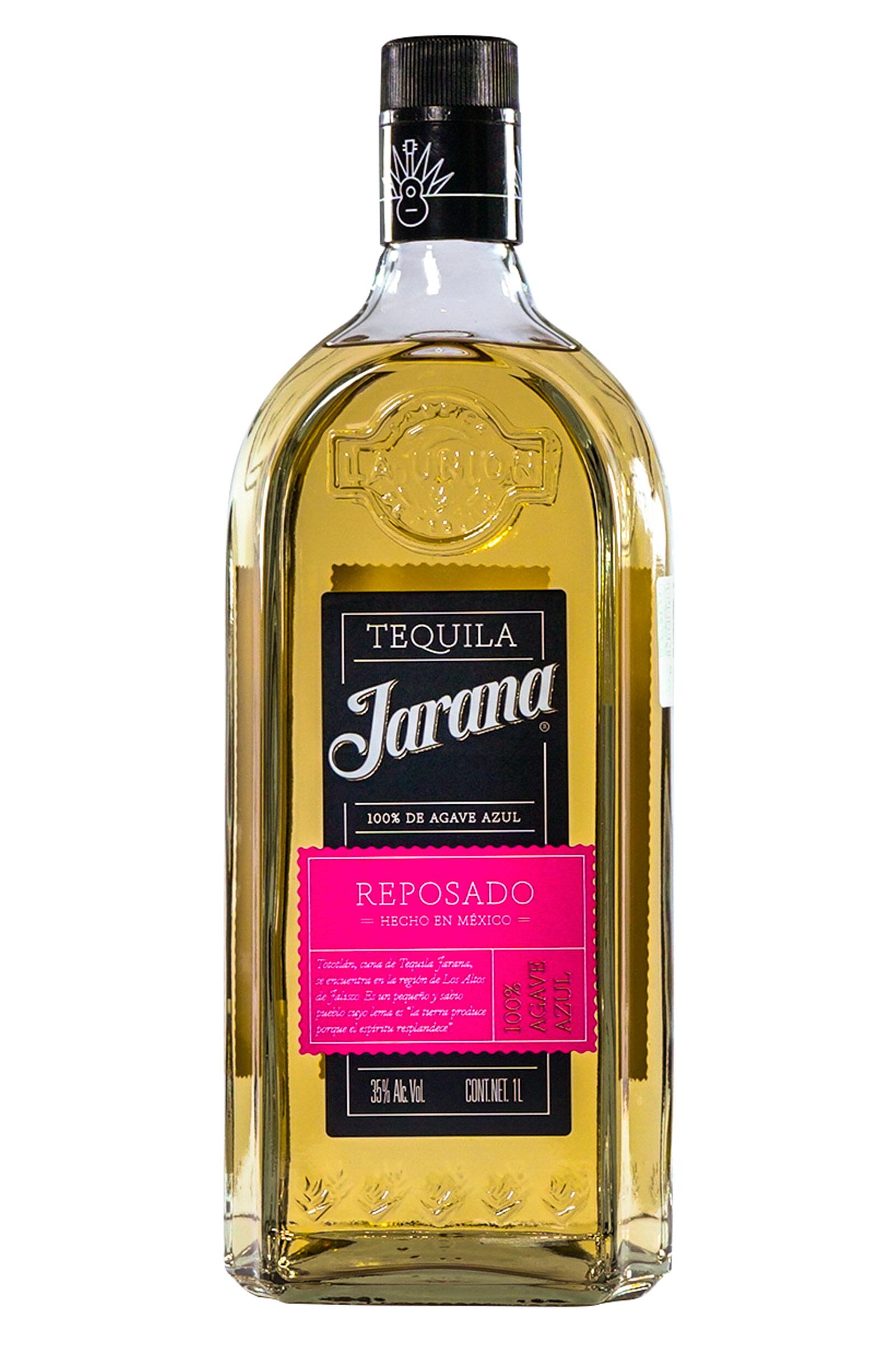 Tequila Jarana Reposado 100% Agave 1000ml