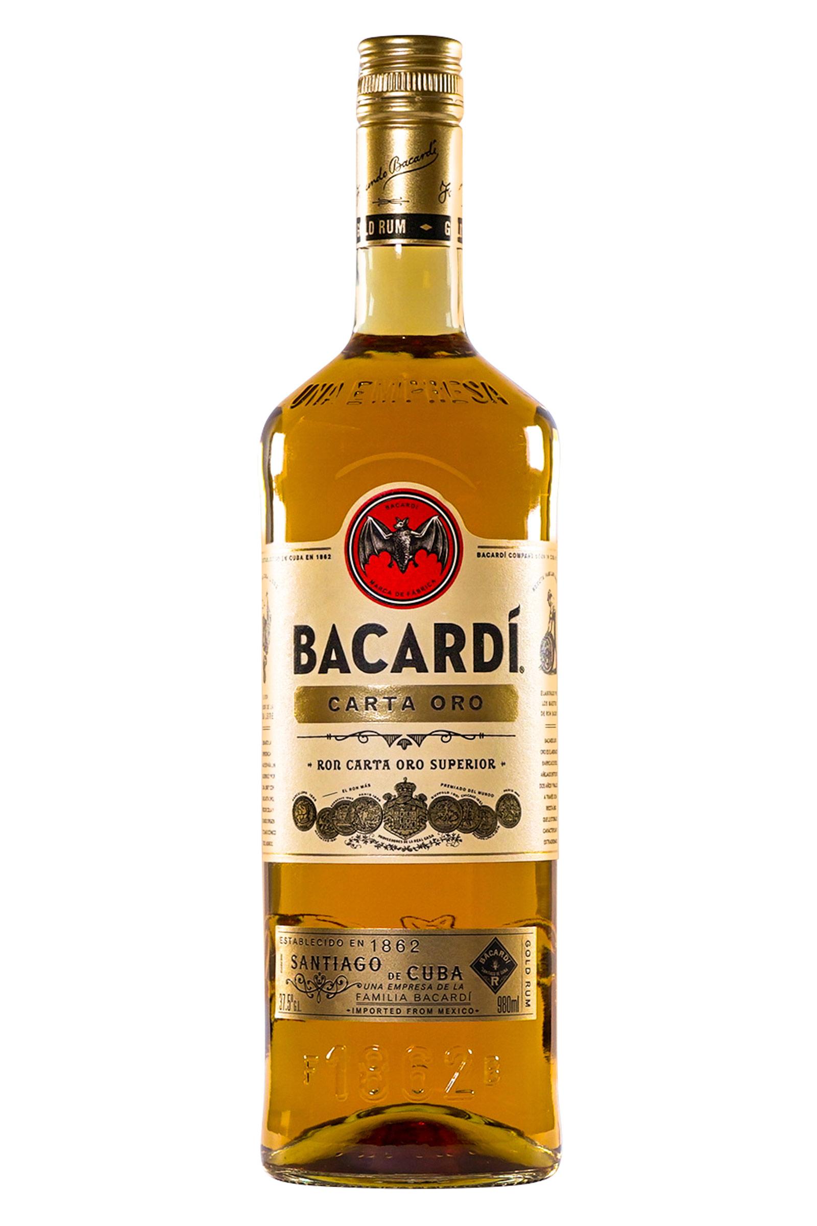 Ron Bacardi Carta Oro 980ml