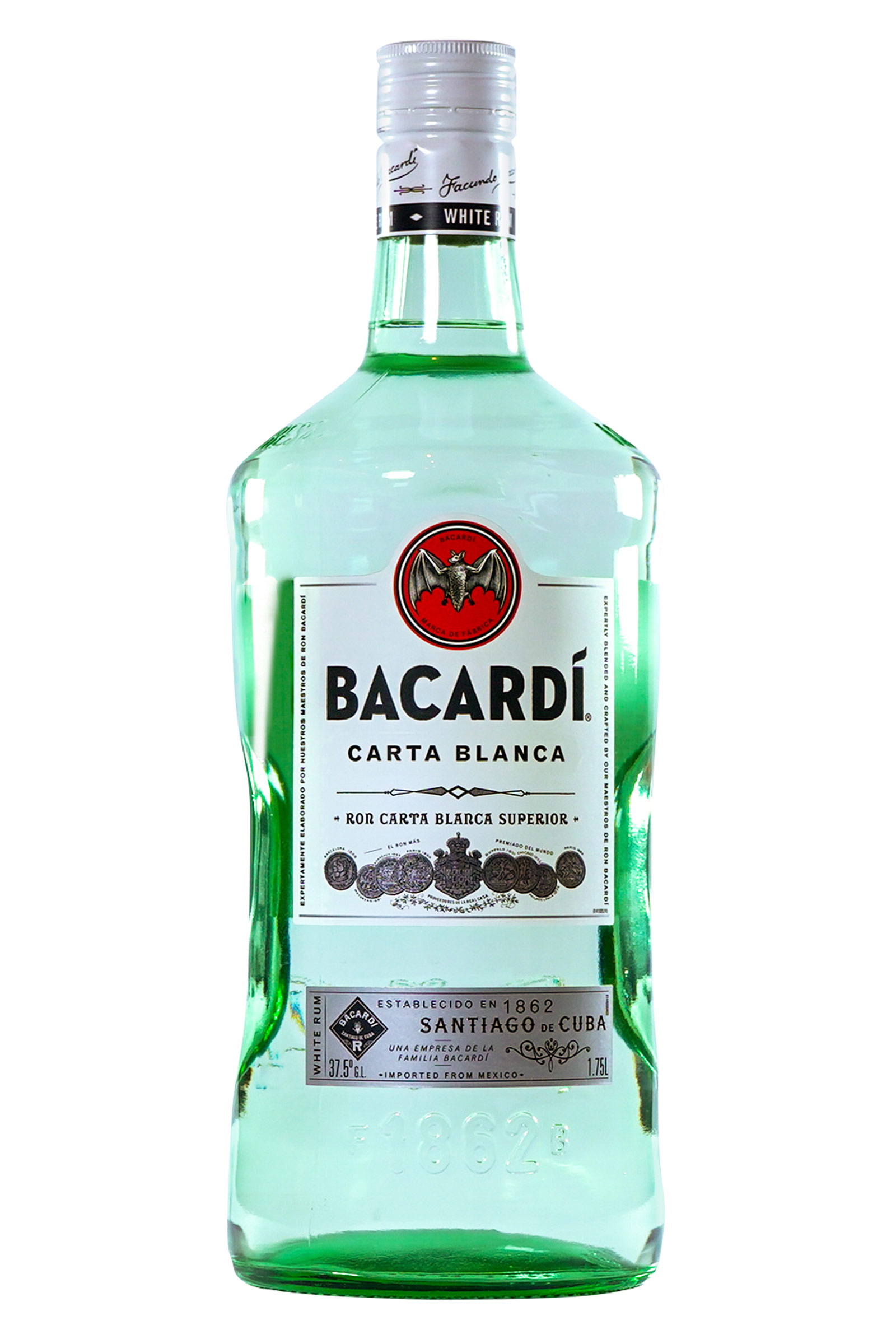 Ron Bacardi Carta Blanca 1750ml