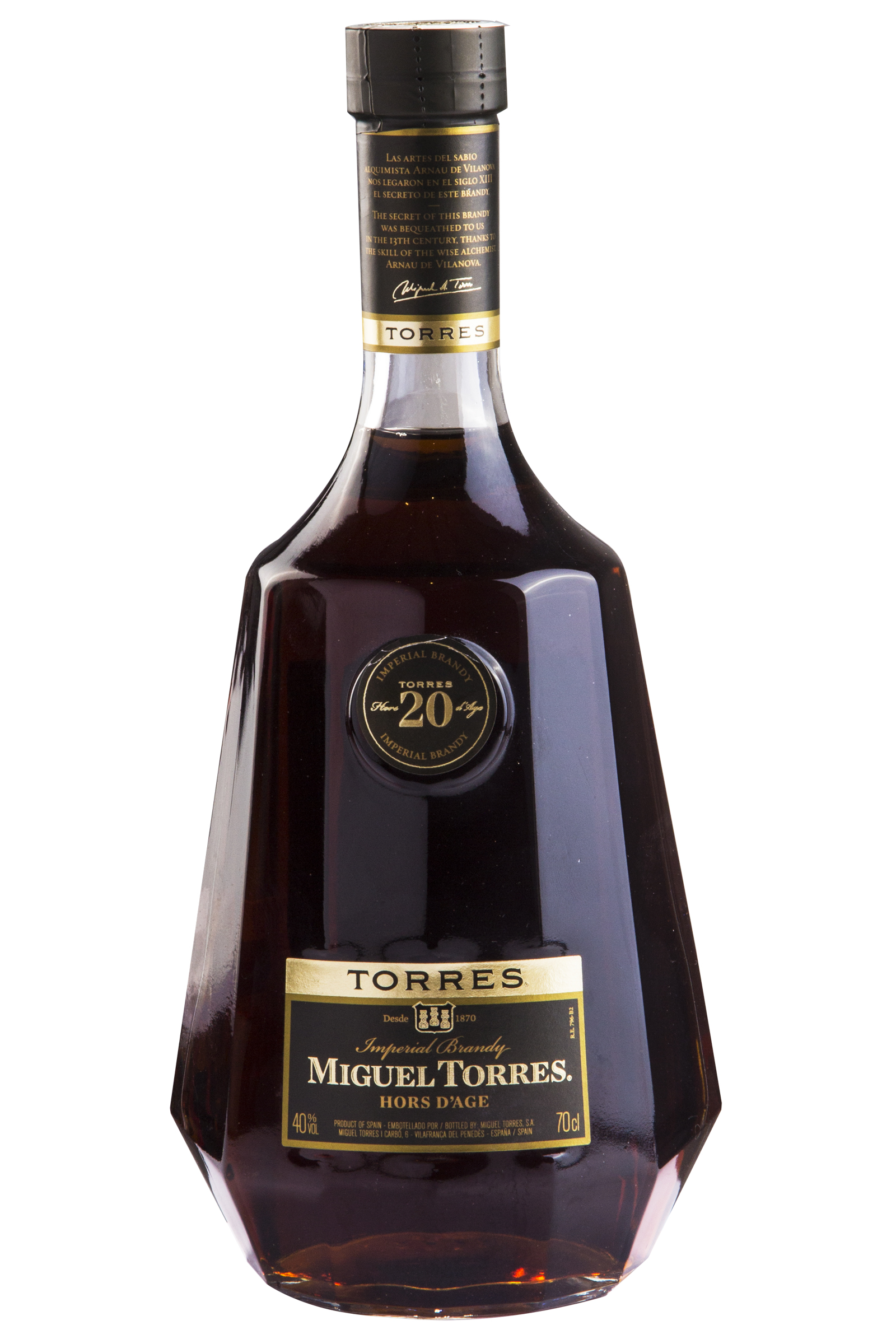 Brandy Torres 20 750ml