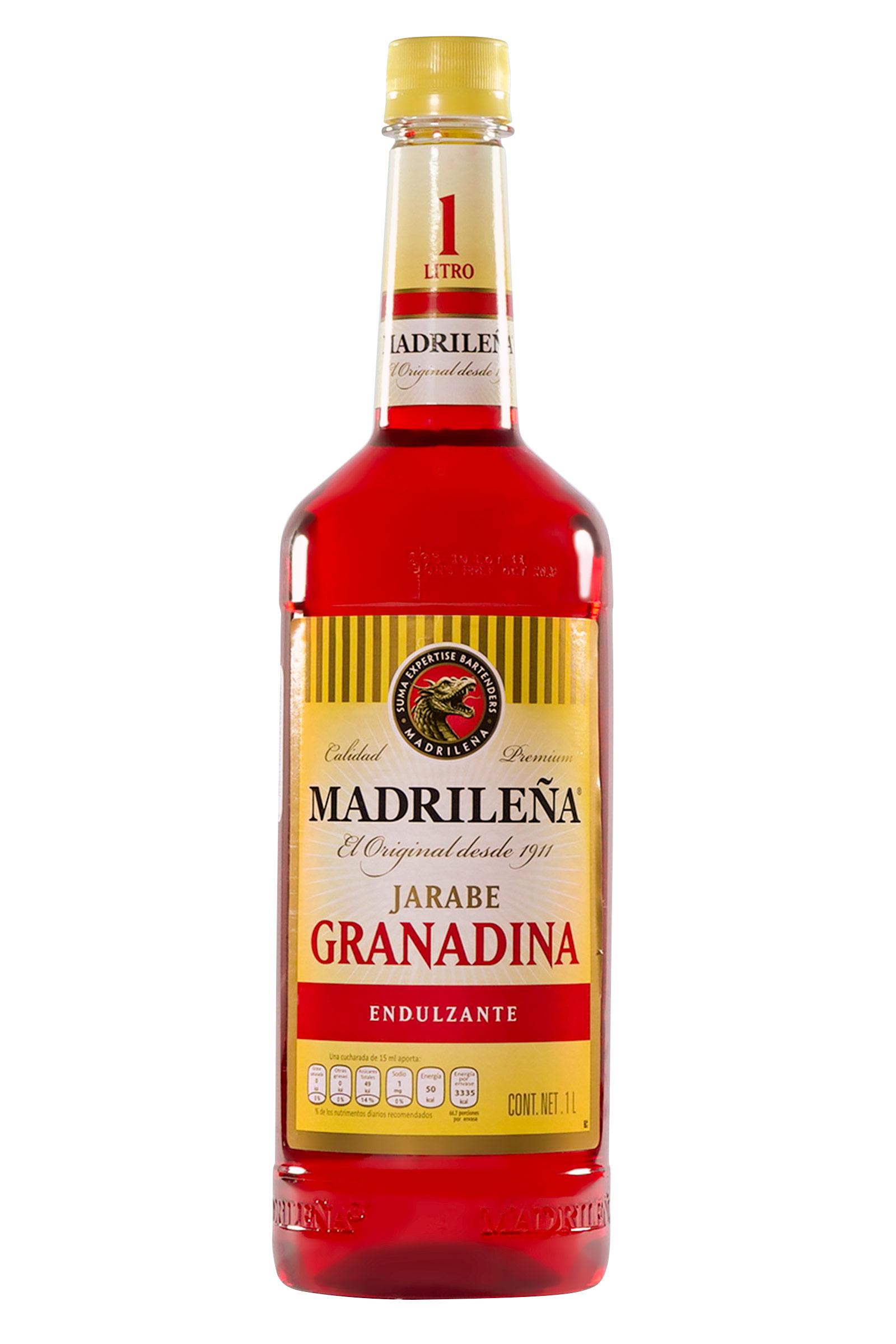 La Madrileña Jarabe Granadina 1000ml