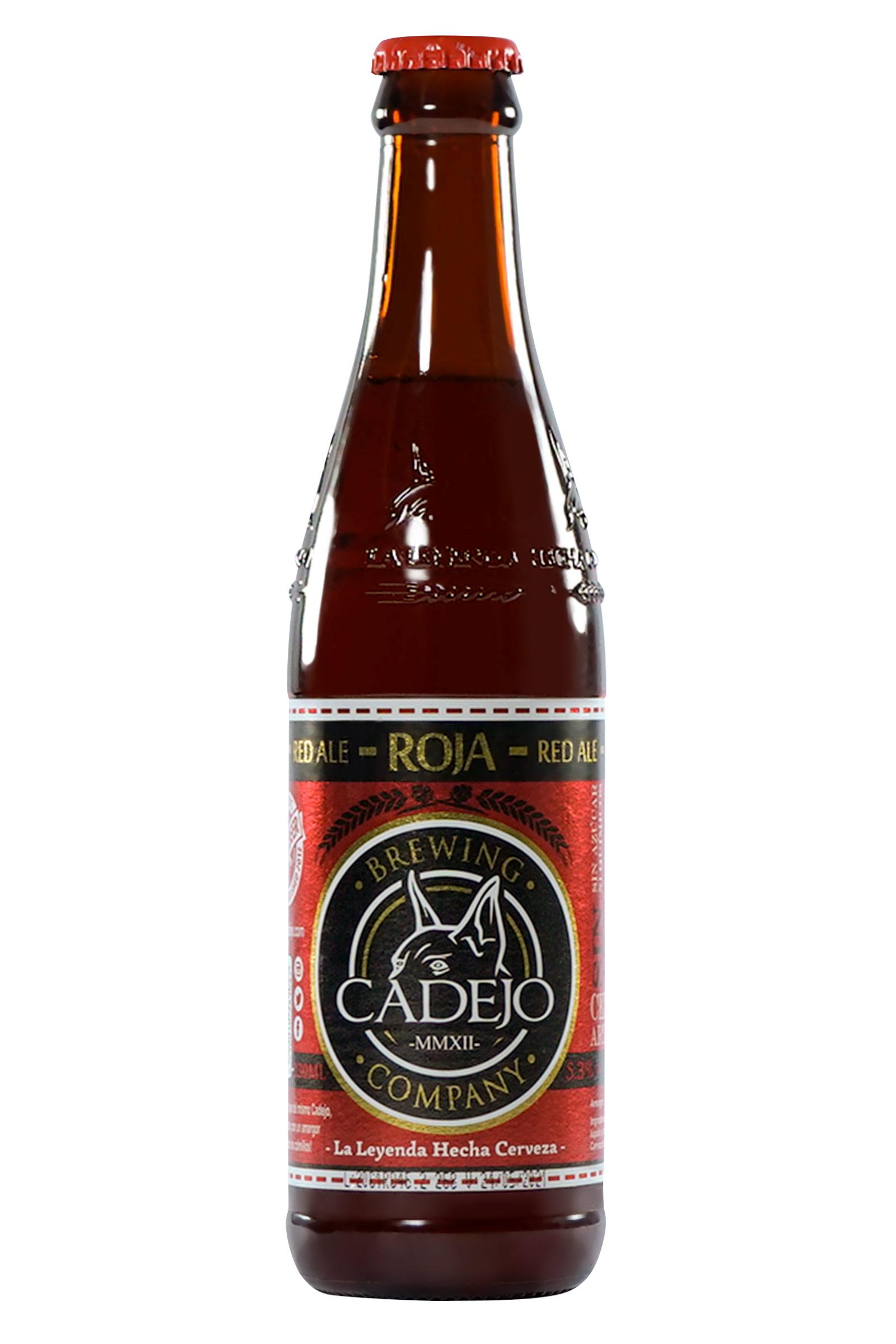 Cerveza Cadejo Roja 330ml