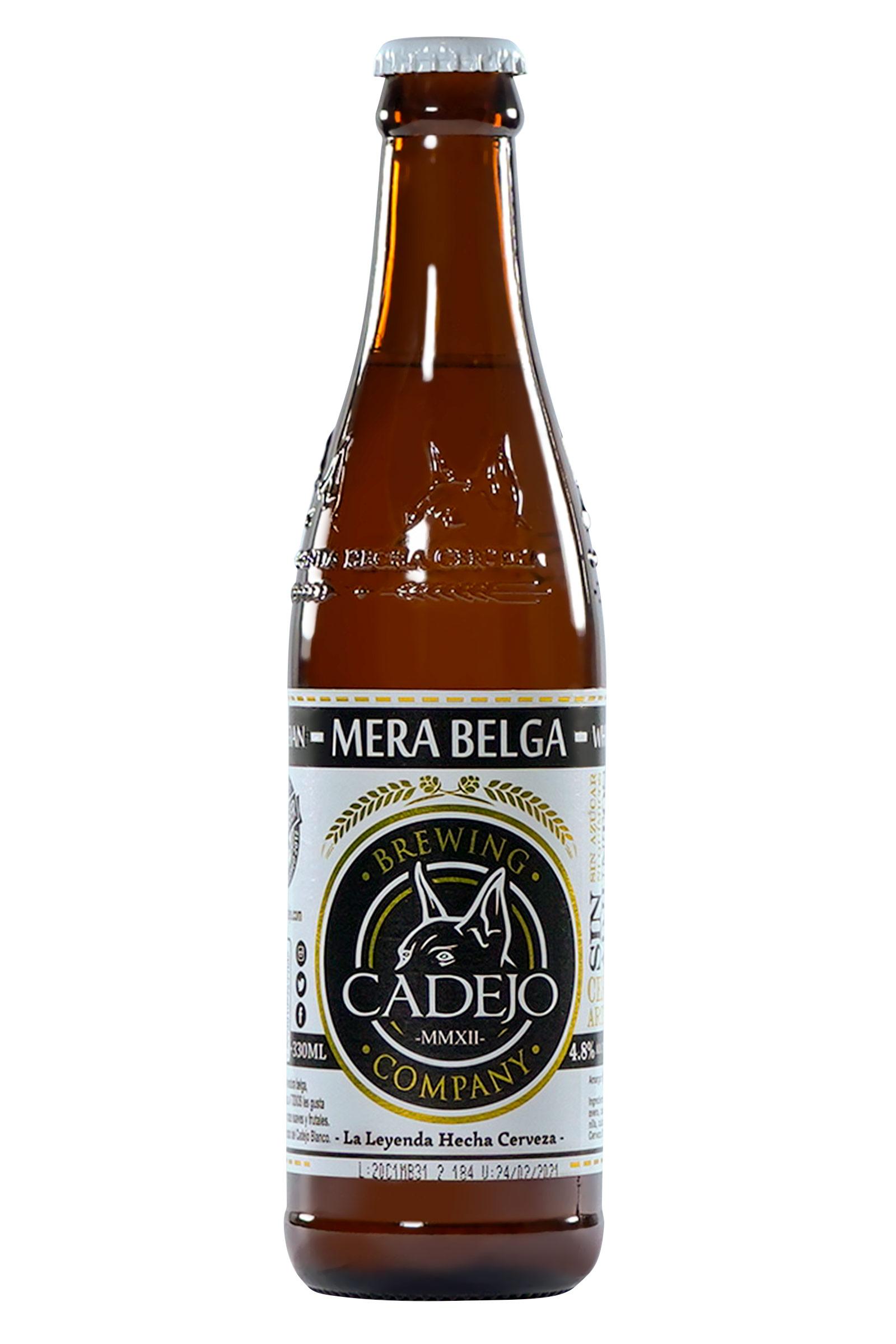 Cerveza Cadejo Mera Belga 330ml