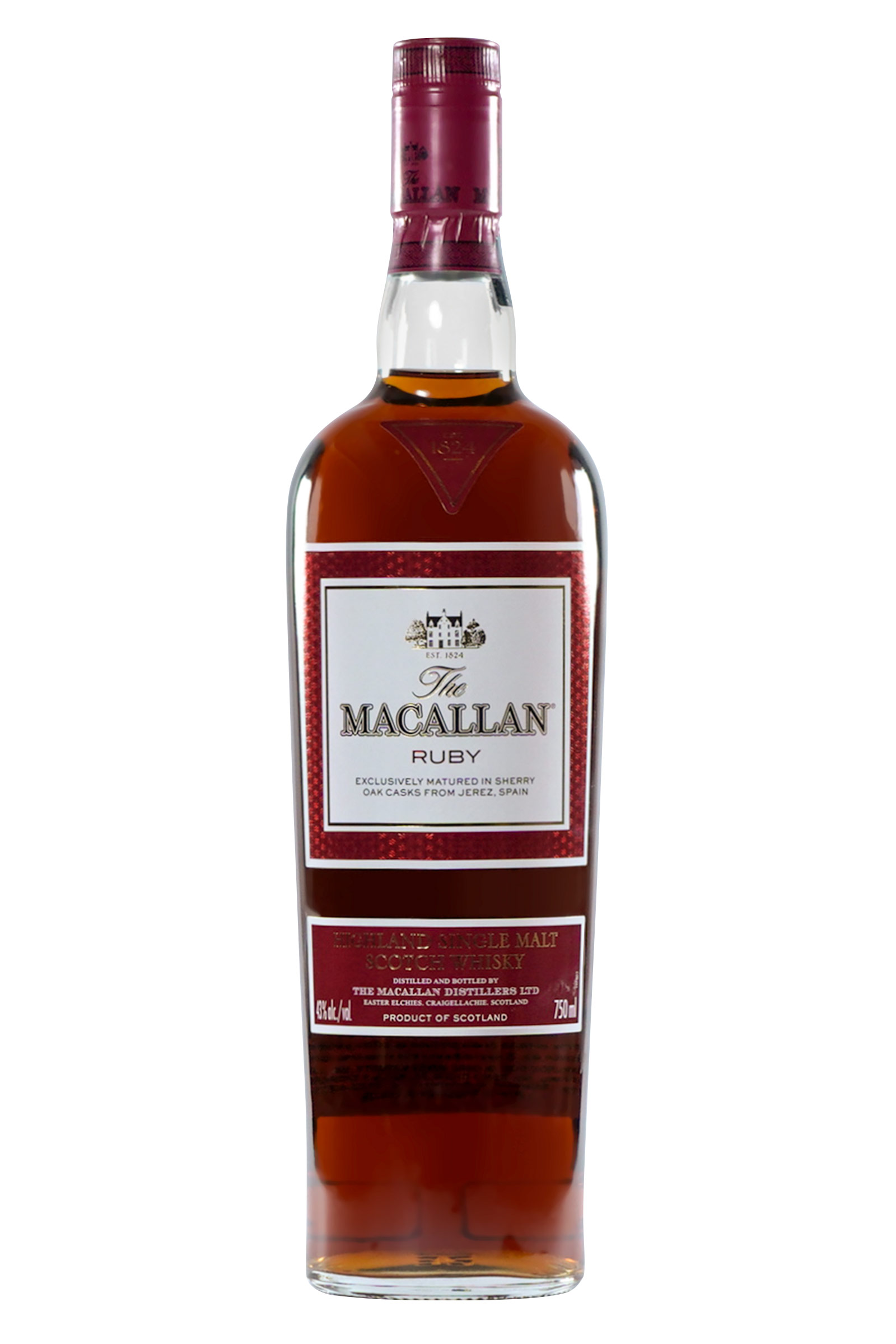Whisky The Macallan Ruby 21 Años 750ml