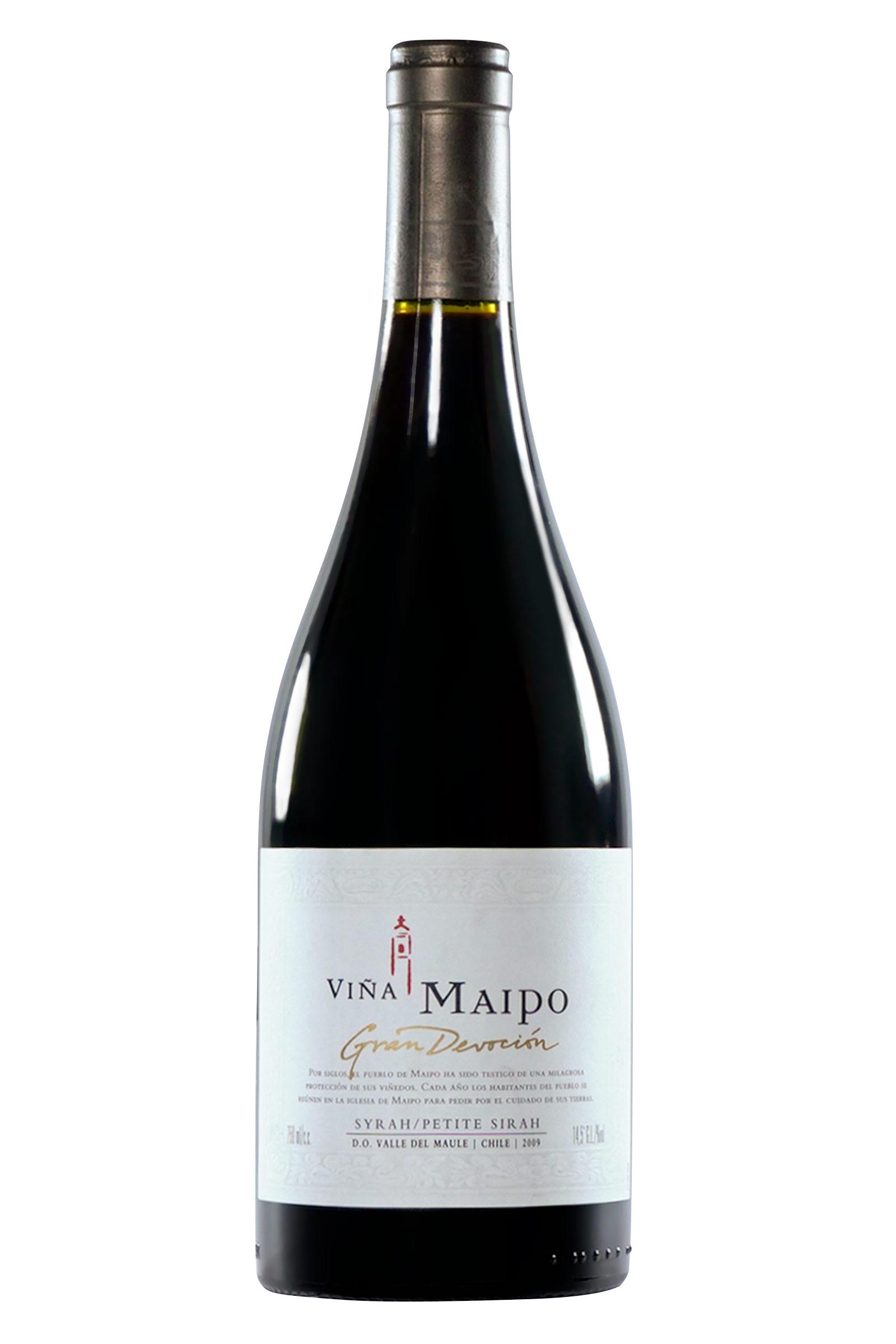 Vino Maipo Gran Devocion Syrah-Petit Verdot 750ml
