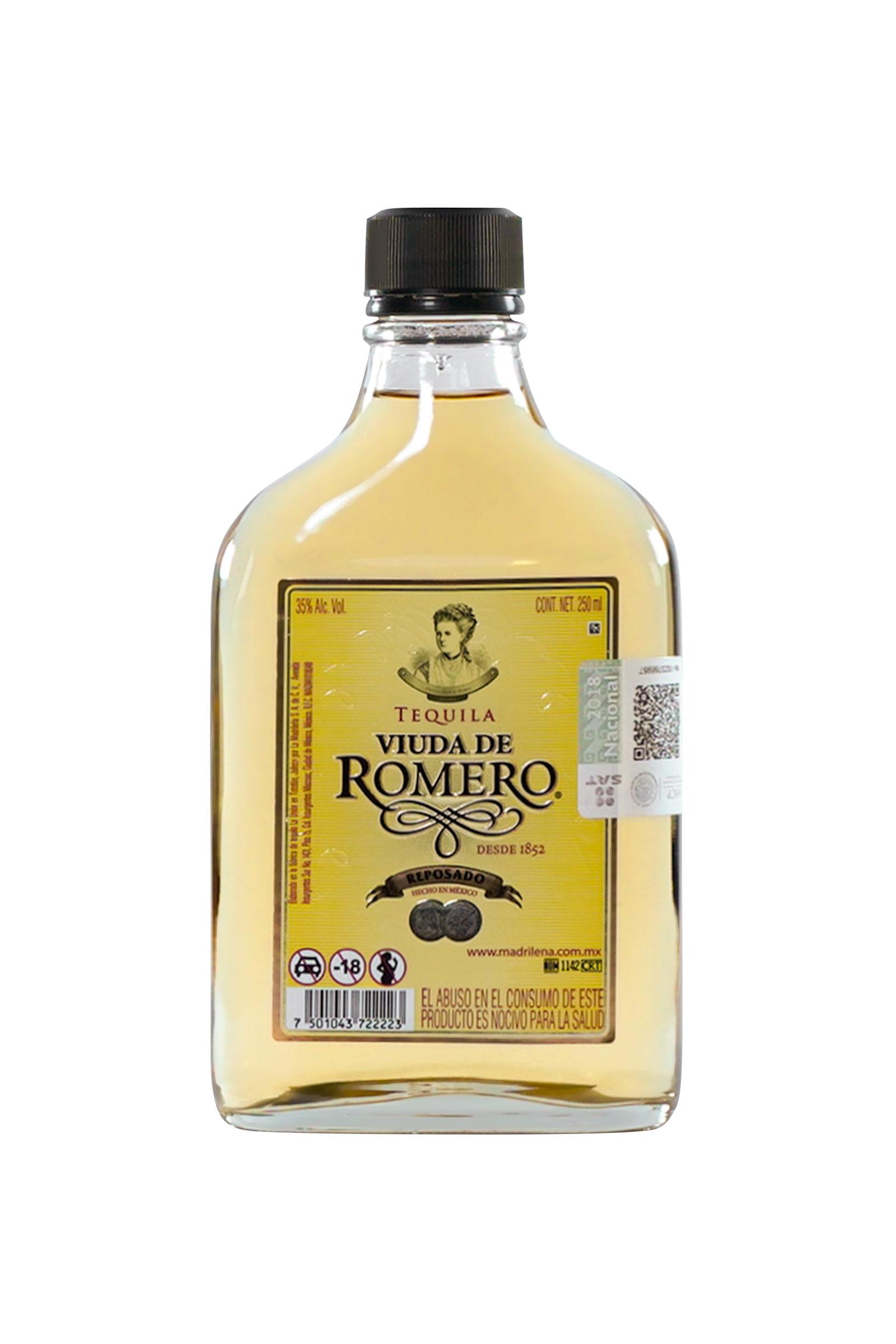 Tequila Viuda de Romero Reposado 250ml