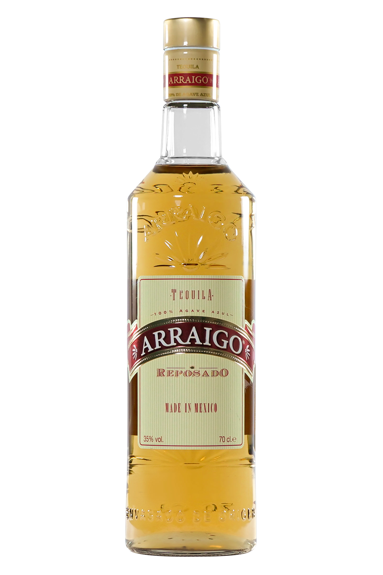 Tequila Arraigo Reposado 100% Agave 700ml