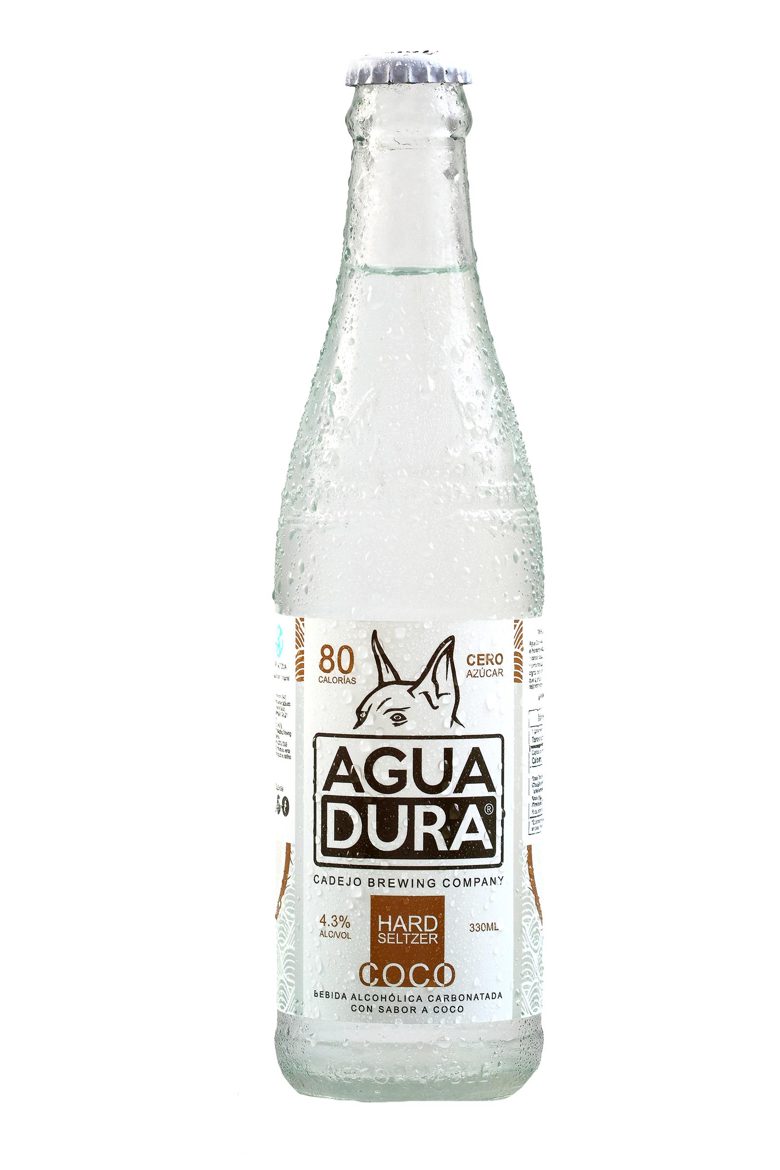 Agua Dura Cadejo Sabor Coco 330ml