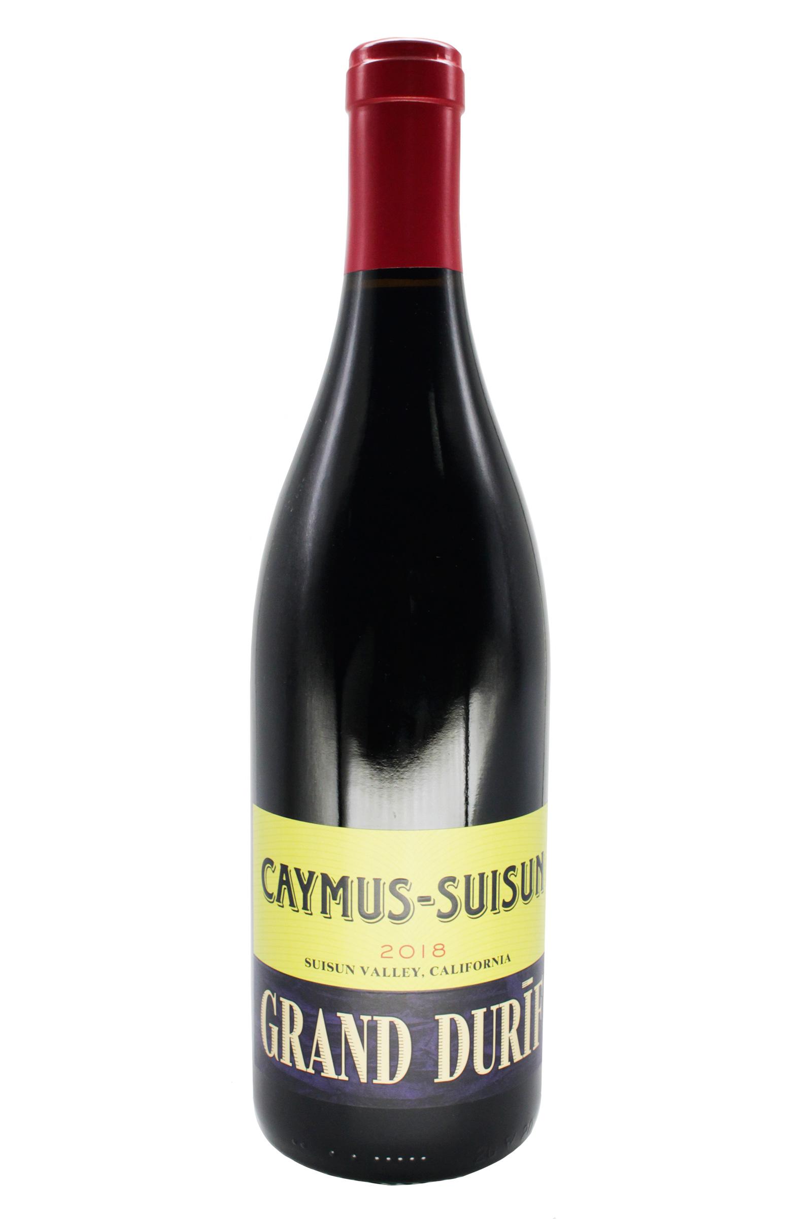 Vino Caymus Suisun Valley Petit Syrah 750ml