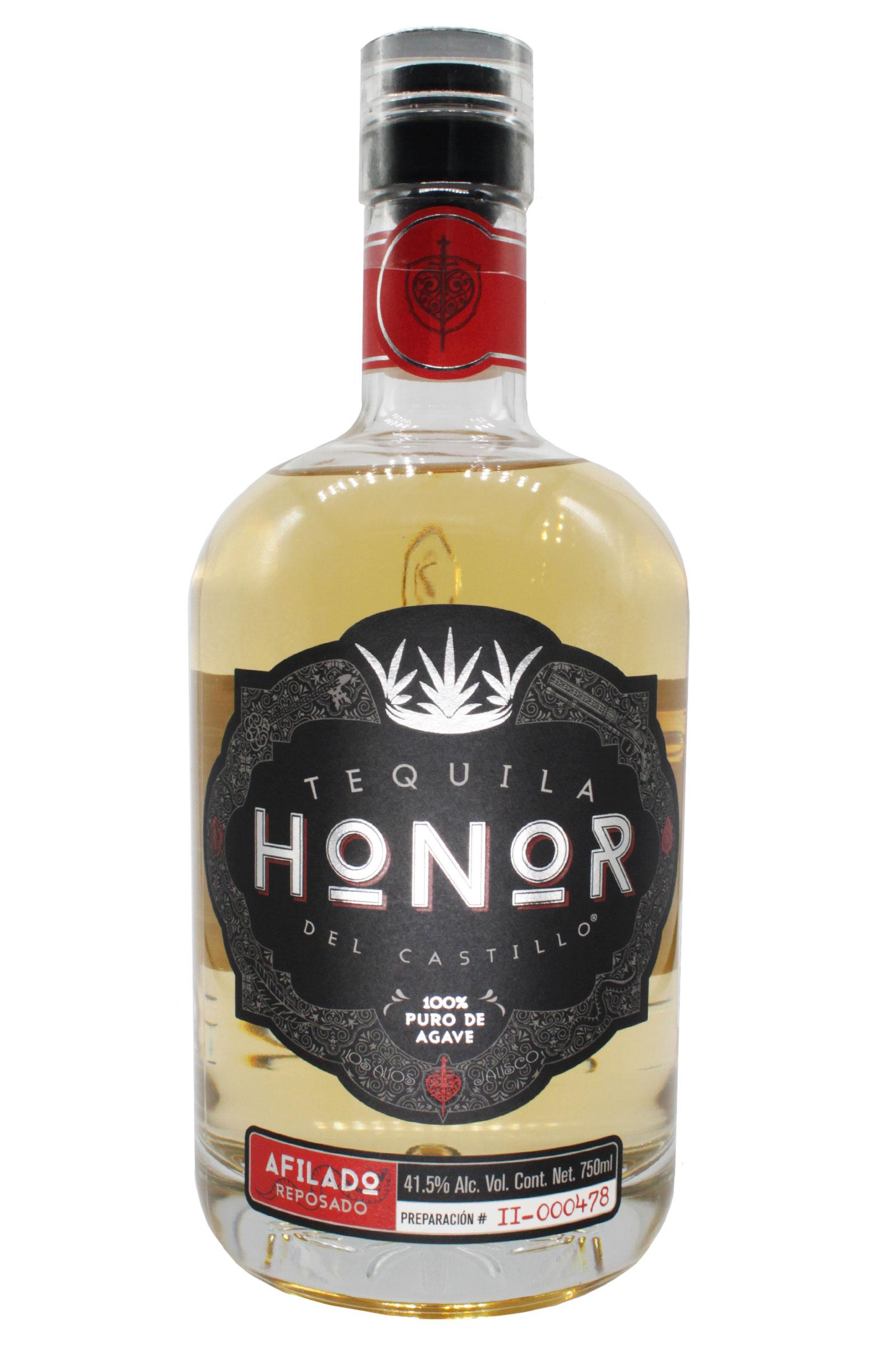 Tequila Honor Afilado Reposado 100% Agave 750ml