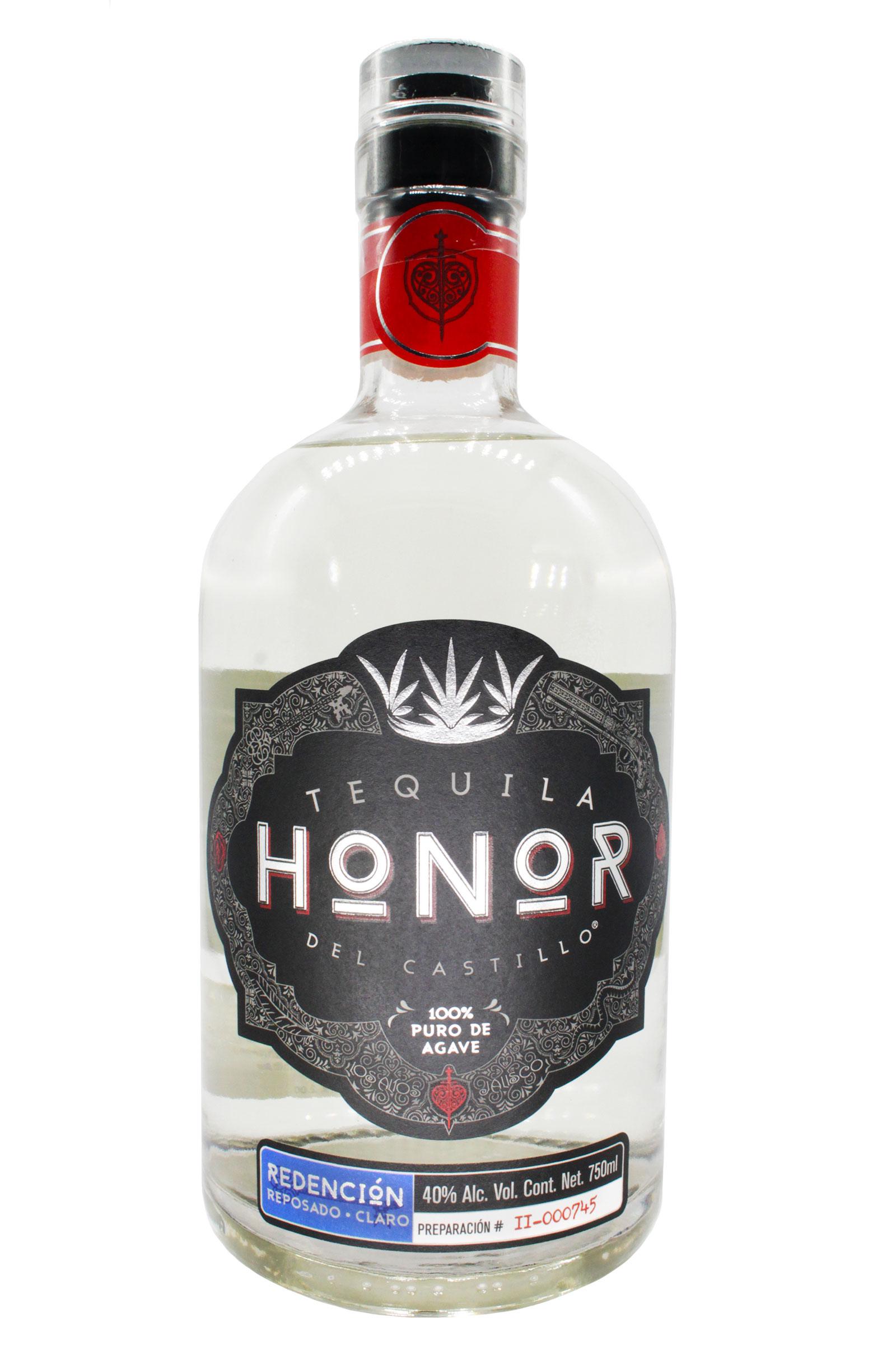 Tequila Honor Redención Reposado Claro 100% Agave 750ml