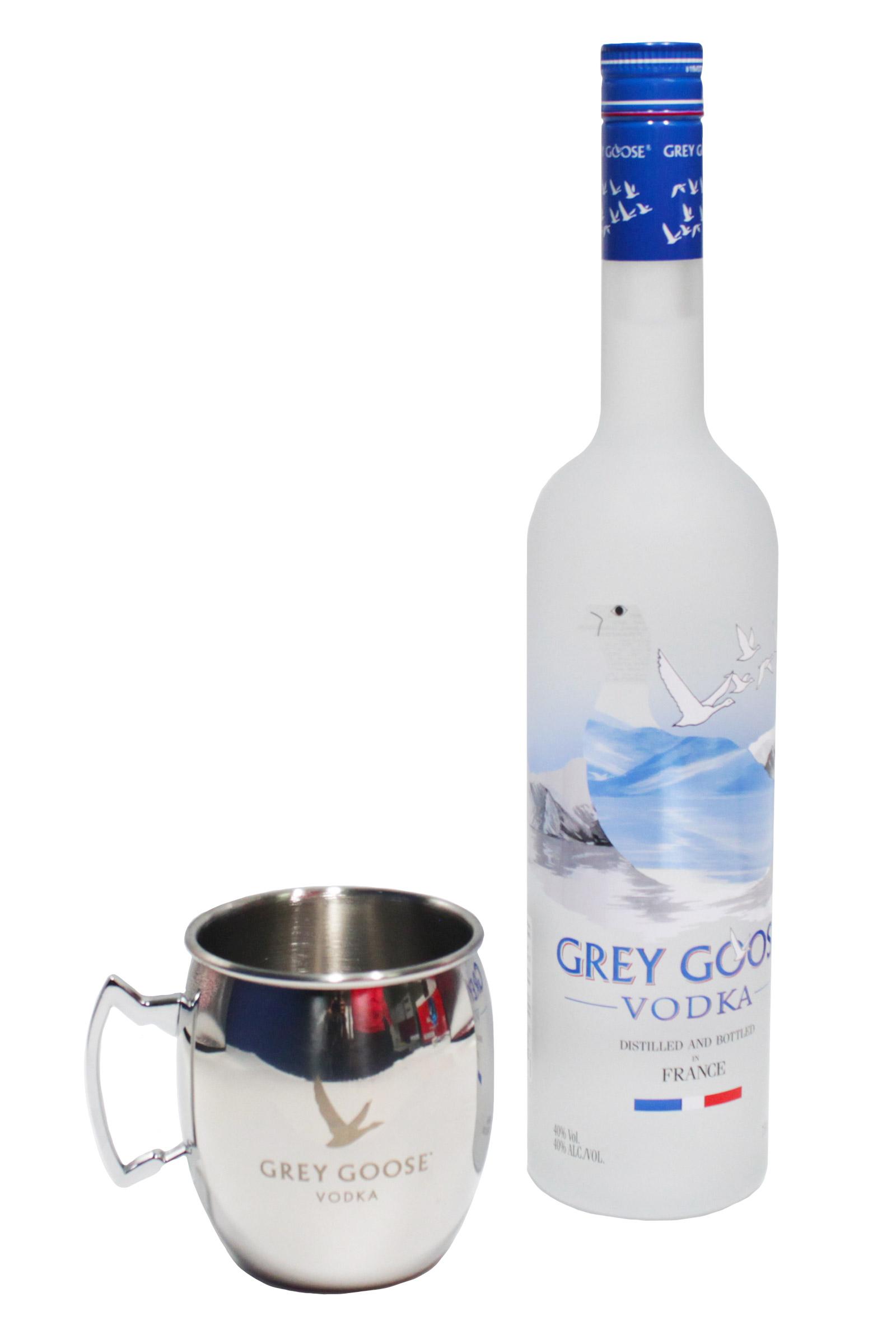 Kit Grey Goose + Taza Moscow Mule