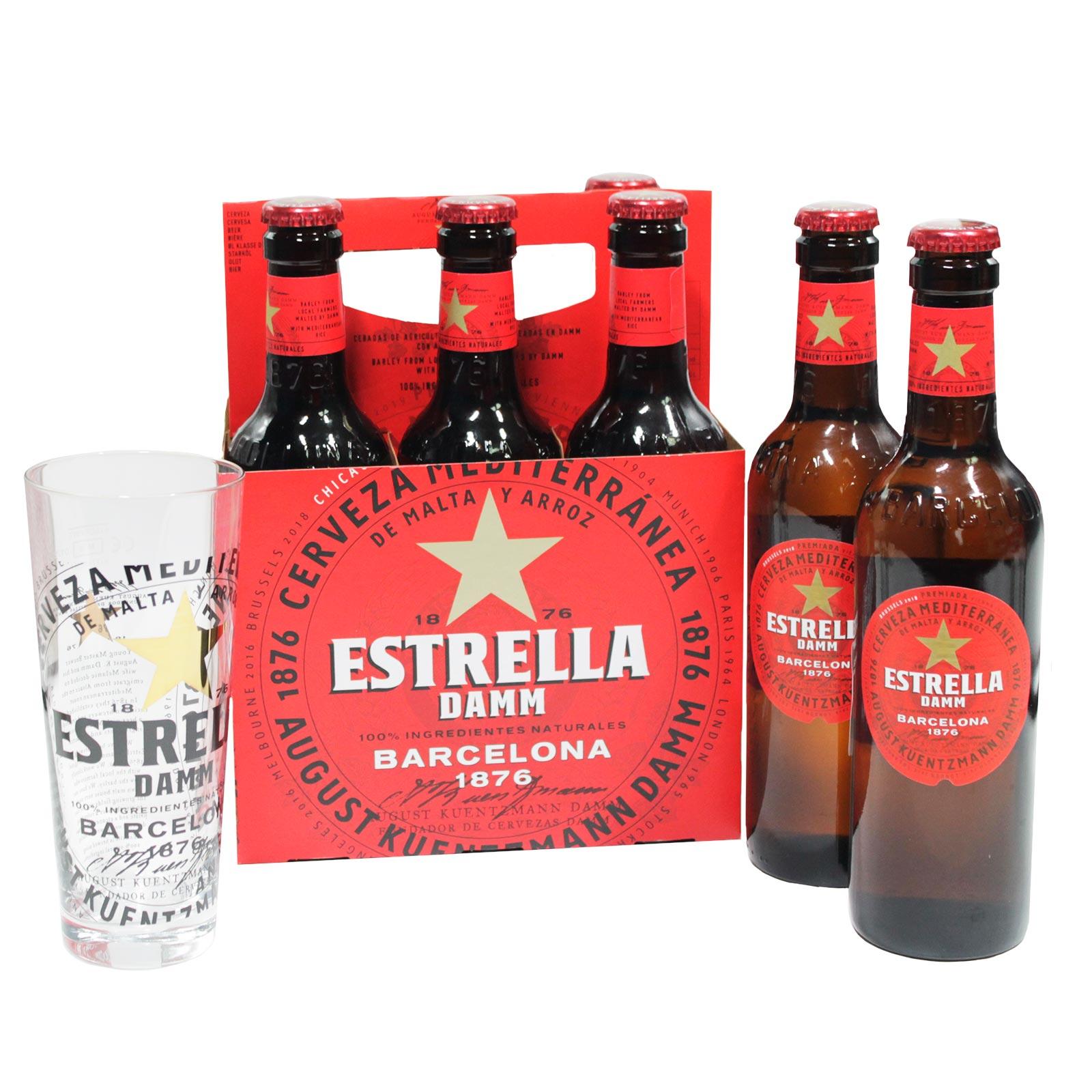 Kit Estrella Damm + Vaso